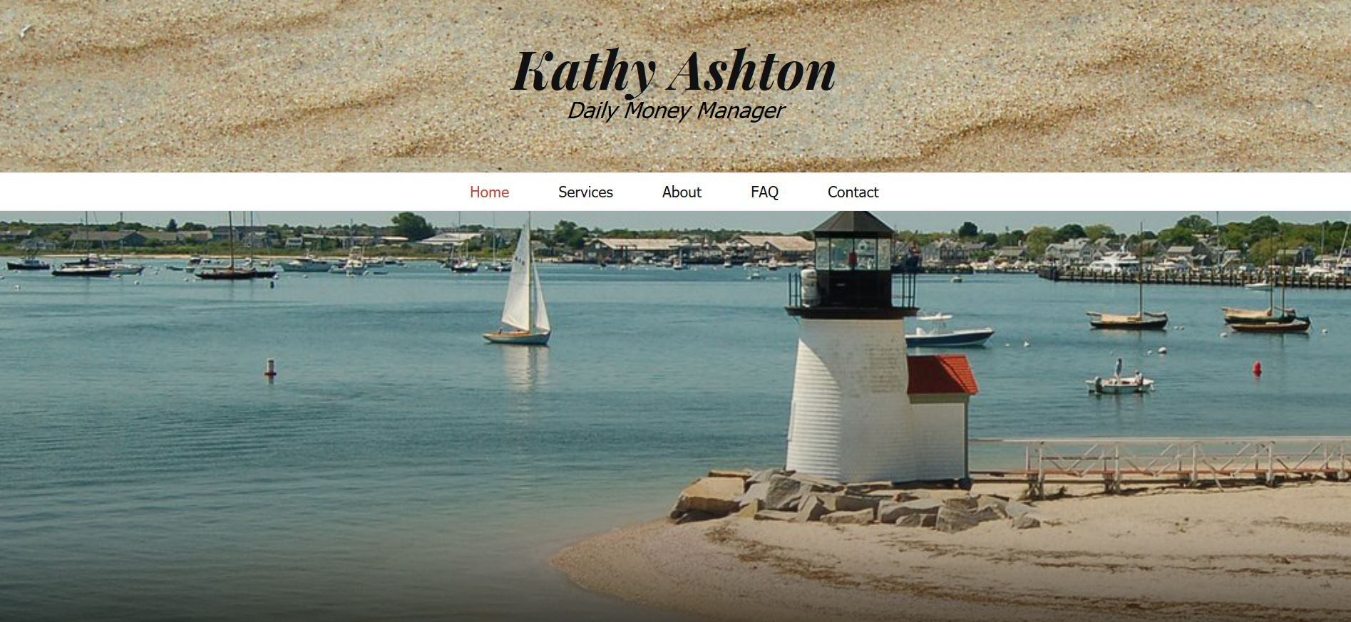 Kathy Ashton, Daily Money Manager